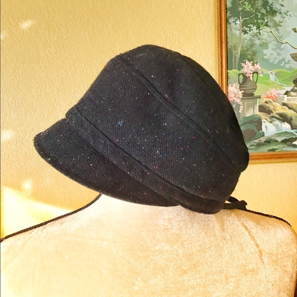 26d4c755 deLux Accessories | Black Hat In Updated Clotch Style | Poshmark